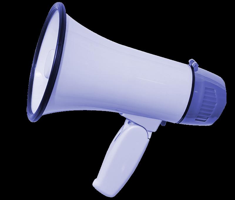 megaphone used to create graphic design