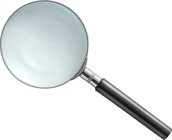 magnify glass used to search for seo