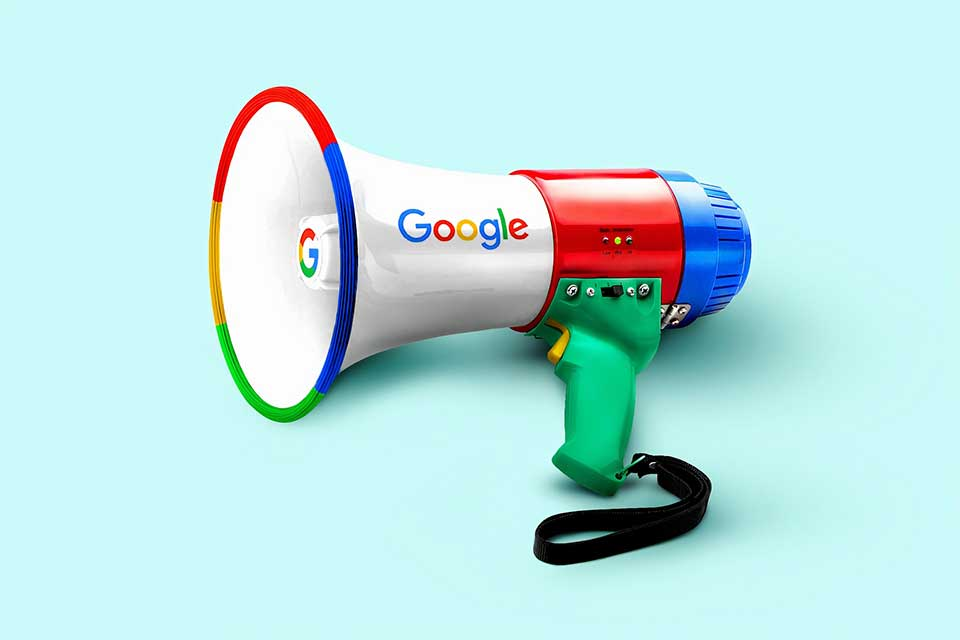 google megaphone used fo blogging