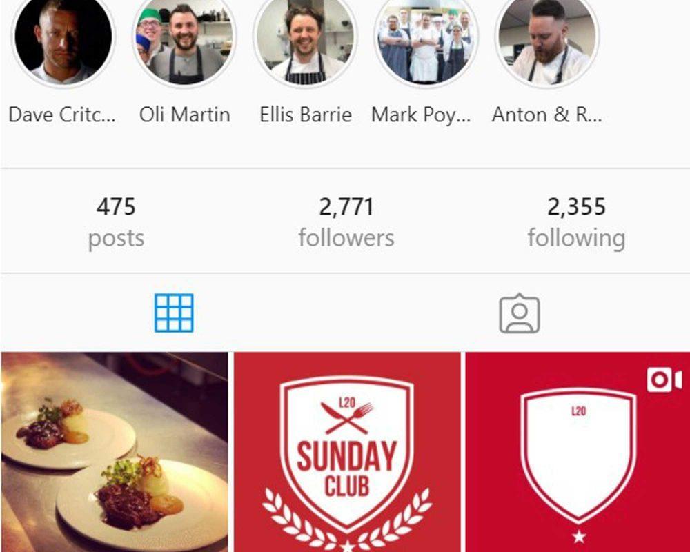 L20 Bootle Instagram Profile